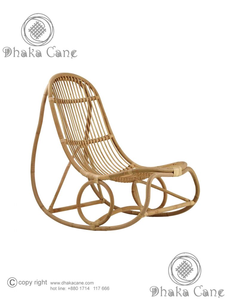 Rattan Easy Chair Dcec 1716 Dhaka Cane